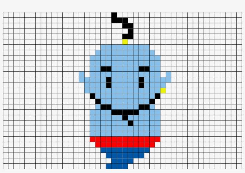 Genie Aladdin Pixel Art Png Image Transparent Png Free