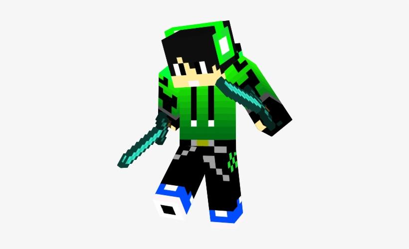 Creeper Boy Skin - Minecraft Boy@seekpng.com
