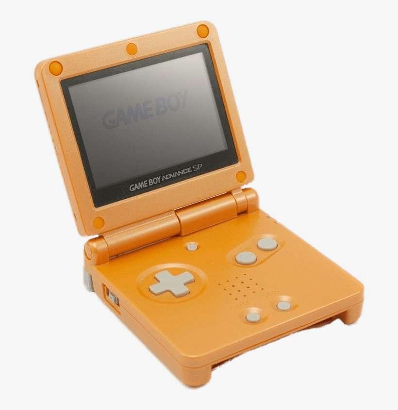 Orange Game Boy Advance Sp Png Game Boy Advance Console Logo Png Png Image Transparent Png Free Download On Seekpng