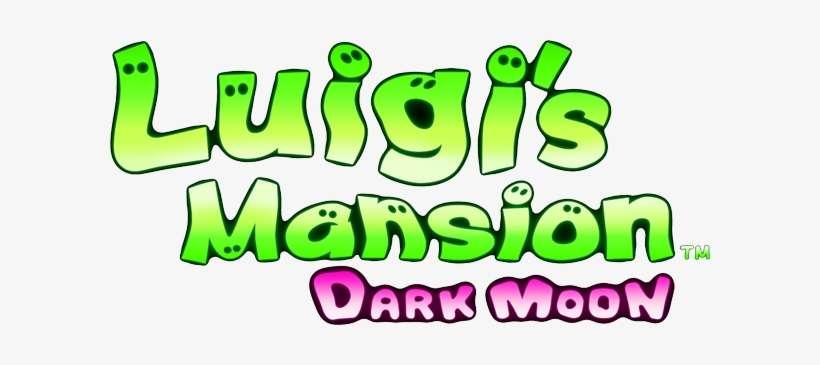 Luigi Luigi S Mansion Dark Moon Logo Png Image