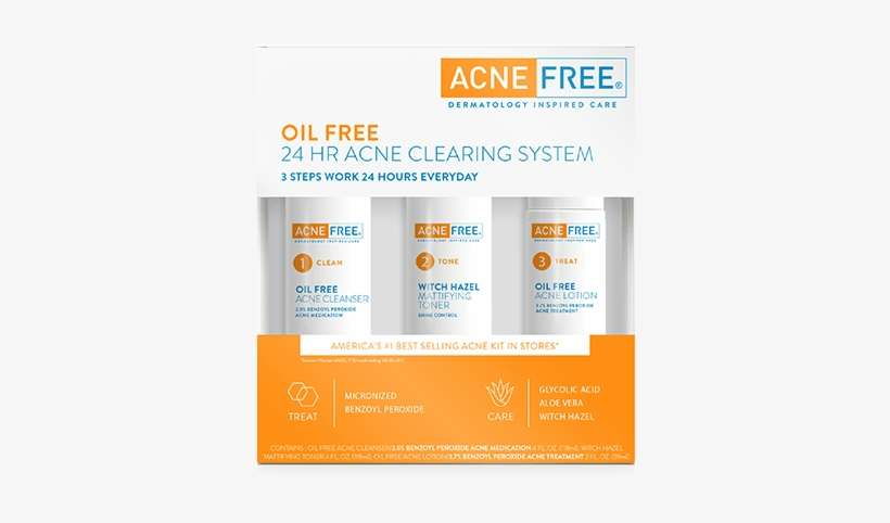 Acne Treatment For Oily Skin Online Advertising Png Image