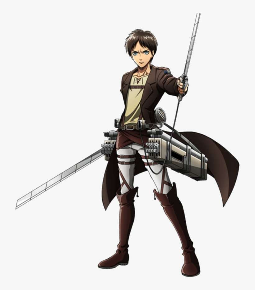 Eren Attack On Titan Outfits Png Image Transparent Png Free Download On Seekpng