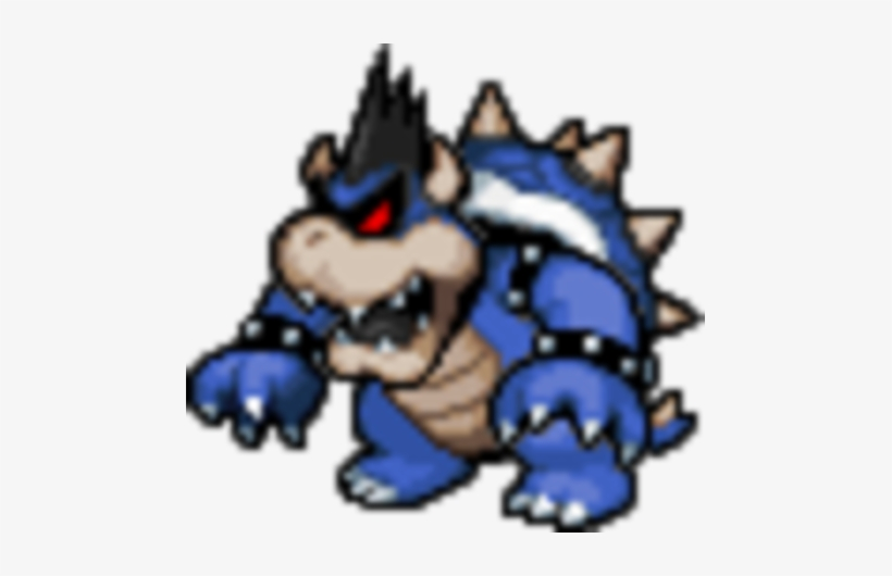 Dark Bowser Dark Bowser Pixel Art Png Image Transparent