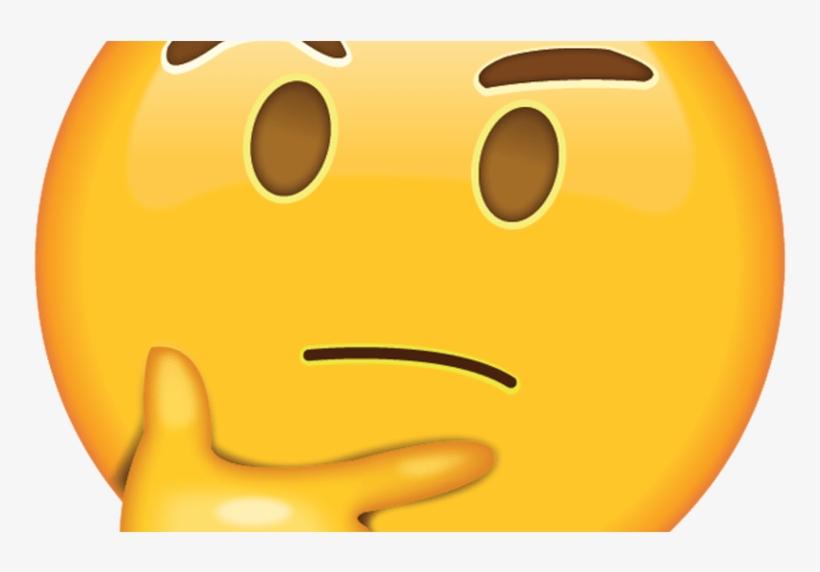 Iphone Fire Emoji Source - Emoji Pensando Png PNG Image