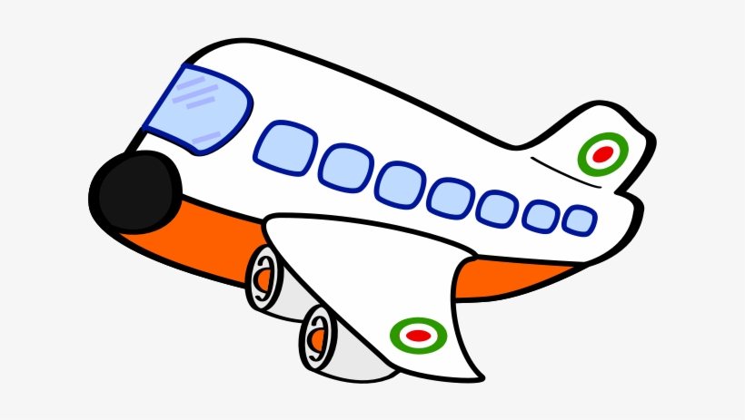 Airplane Cartoon Clip Art Airplane Clipart Black And White Png Image Transparent Png Free Download On Seekpng