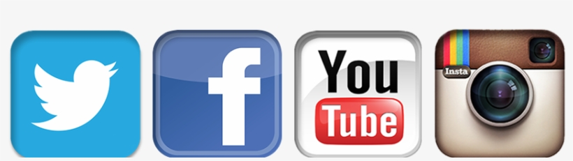 Instagram Facebook Twitter Youtube Logos - Youtube Facebook Twitter  Instagram Icons, transparent png download e81a05f09d