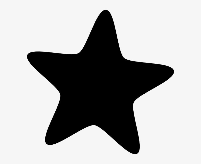 Christmas Star Black And White Clipart Black Star Vector Png Png Image Transparent Png Free Download On Seekpng