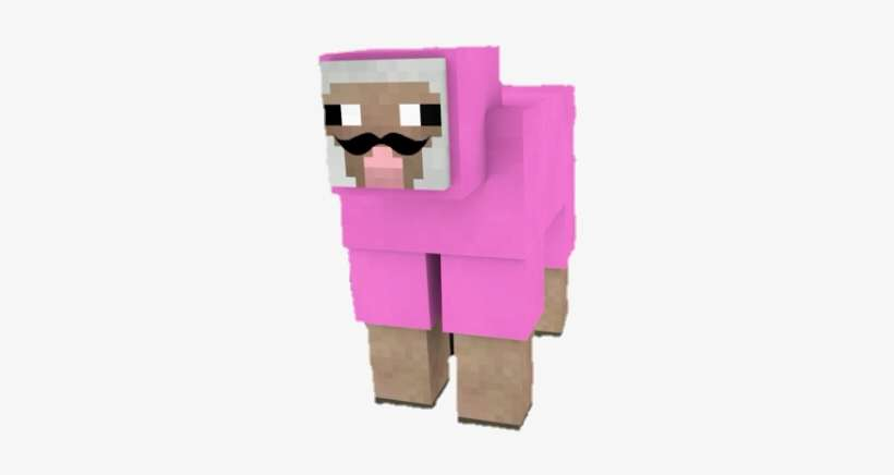Pink Sheep Minecraft Form Pink Sheep Minecraft Exploding