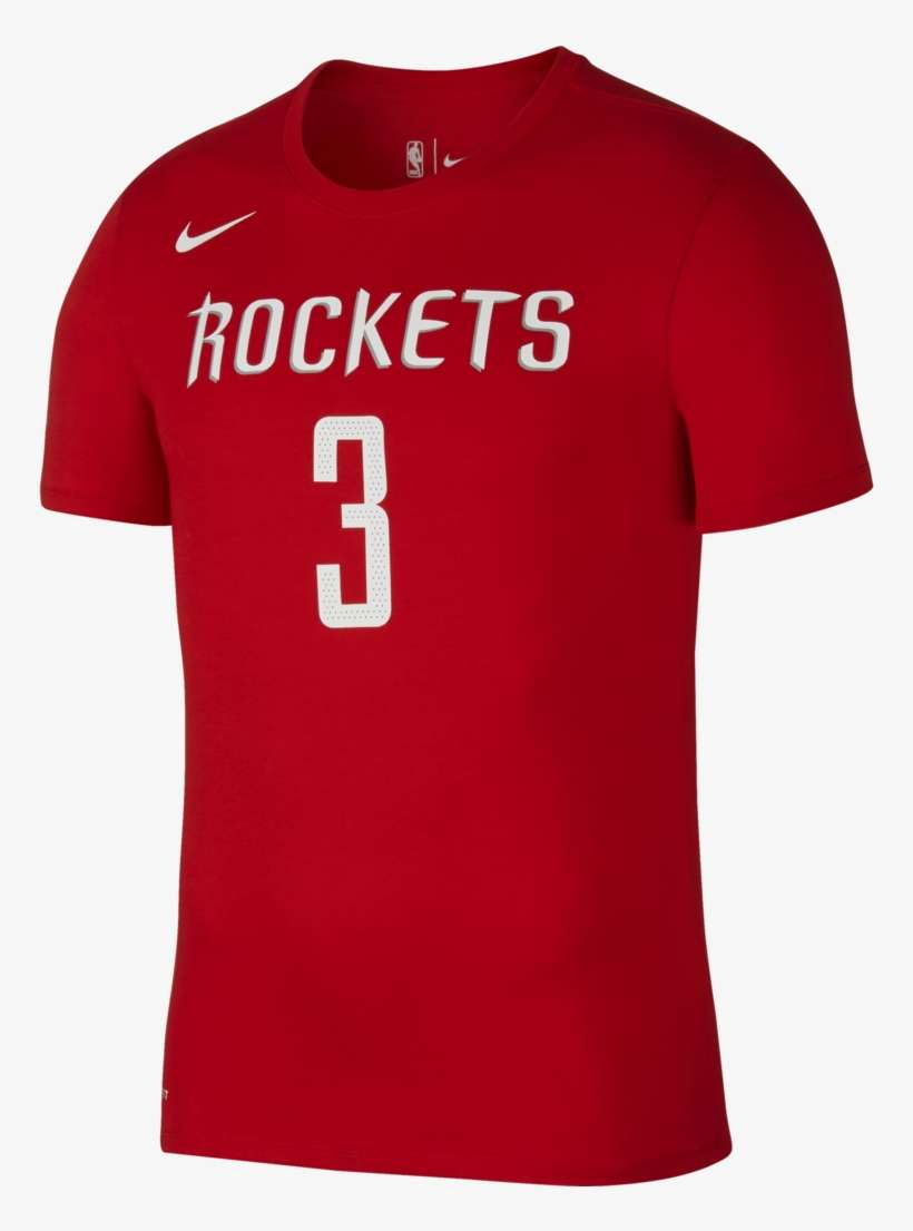 online retailer 876b2 7365f Men's Houston Rockets Nike Chris Paul Icon Name And - James ...