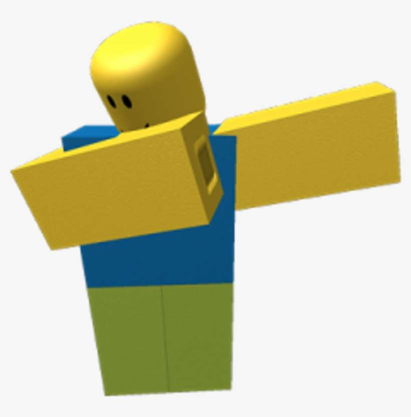 Roblox Noob Dabbing Transparent Png Download Home Garden And Kitchen