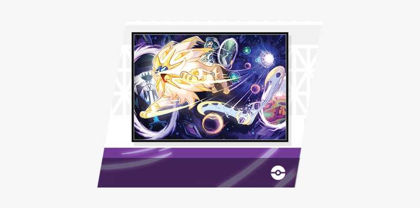 Solgaleo Lunala Wormhole Art Promo Pokemon Ultra Sun Ultra