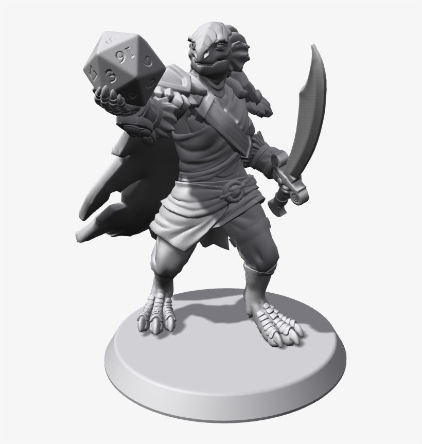[lfa] Outlander Ex-slave Silver Dragonborn Druid - White Dragonborn Druid@seekpng.com