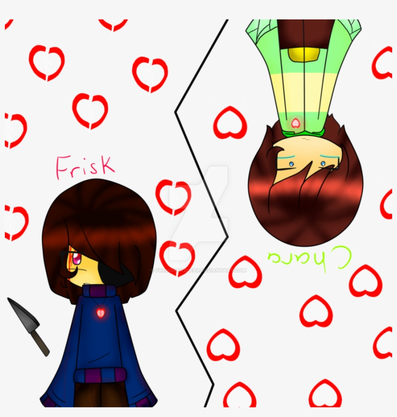 Soul Transparent Undertale Frisk Clip Art Black And Undertale Frisk And Chara And Souls Png Image Transparent Png Free Download On Seekpng