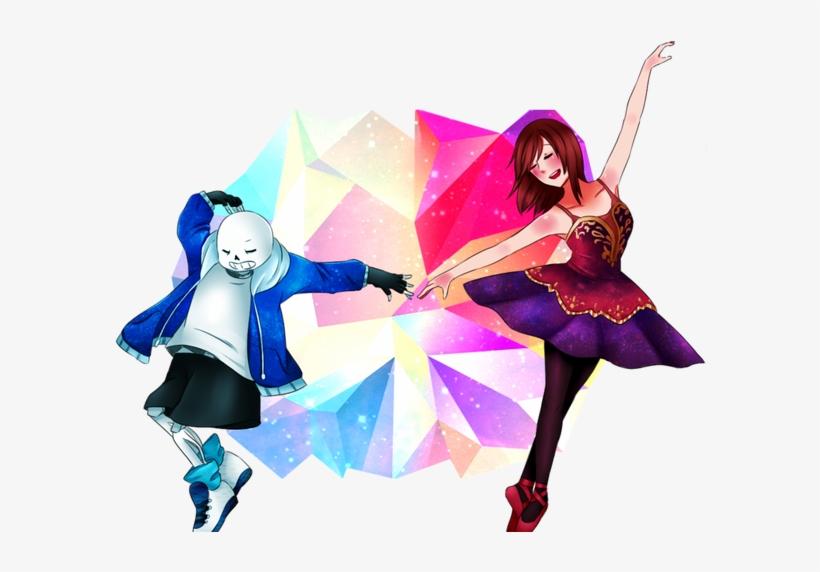 Dancetale Sans X Frisk By Androgynouscake On Deviantart