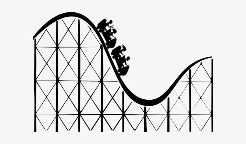 Roller Coaster 3d Png Download - Roller Coaster Png