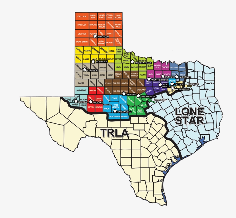 Map Of Northwest Texas.Legal Aid Of Northwest Texas Map Png Image Transparent Png