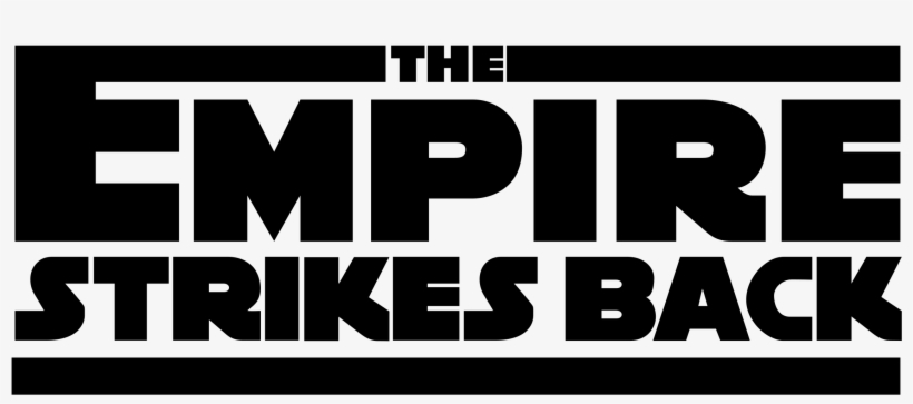 The Empire Strikes Back Logo Png Transparent Star Wars Empire Strikes Back Png Image Transparent Png Free Download On Seekpng