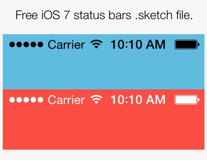 Now That Ios Status Bars Are Transparent, You'll Want