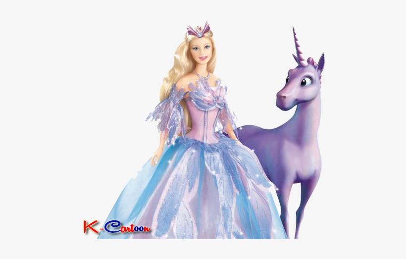 Gambar Barbie Bersama Kuda Barbie Lago Dos Cisnes Png Image