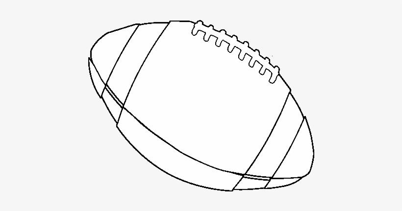 Dibujo De Balón De Fútbol Americano Para Colorear Balon De