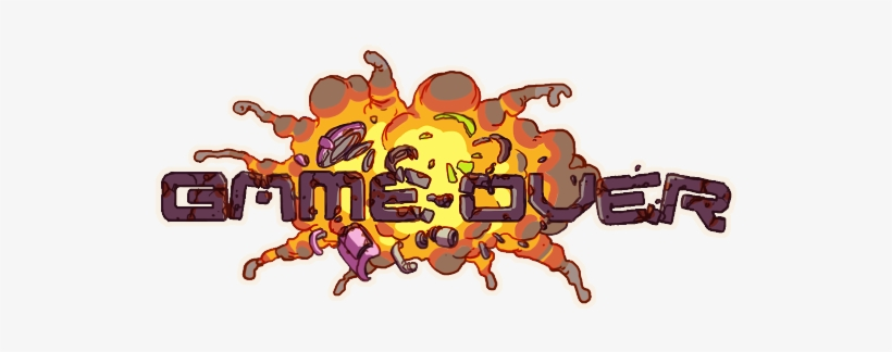 Gameover Game Over Gif Png Png Image Transparent Png Free Download On Seekpng
