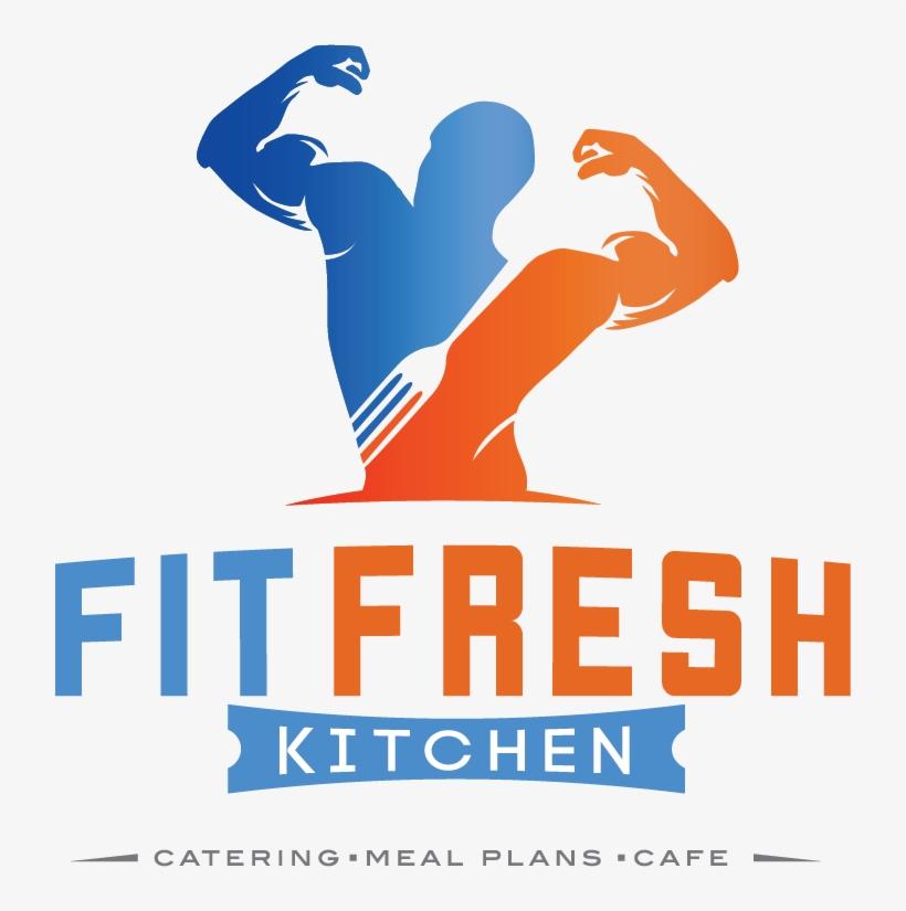 Fit Fresh Kitchen Logo Black Poster Png Image