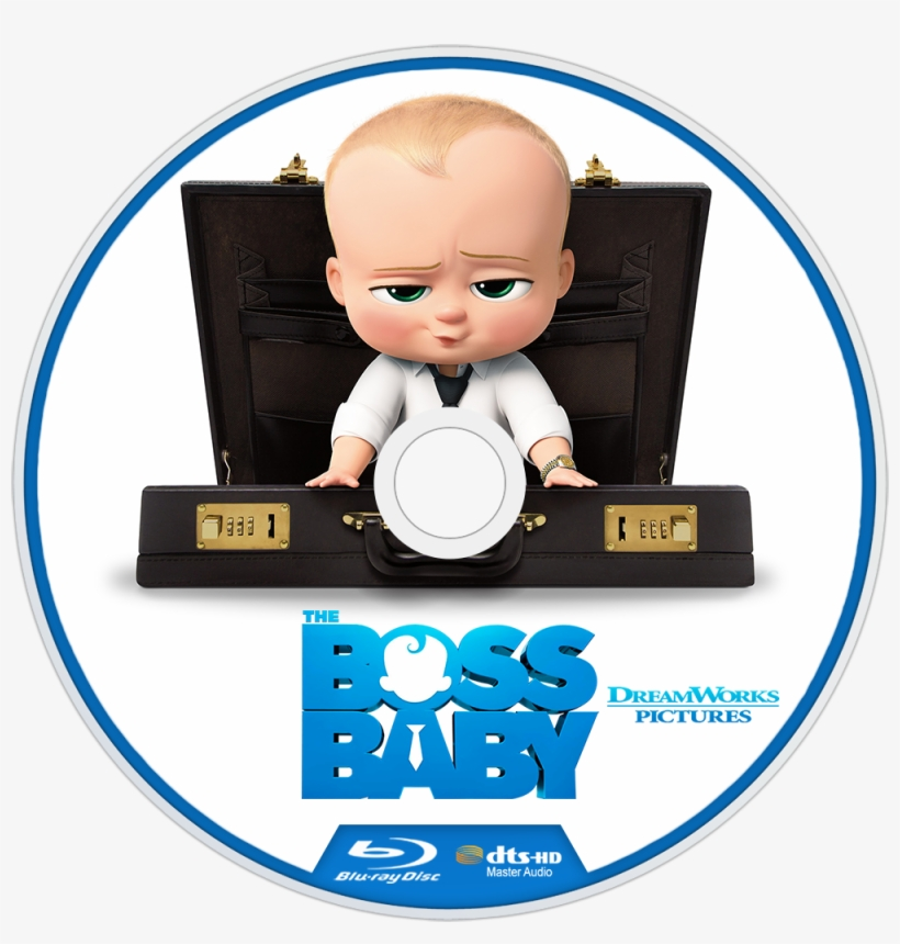The Boss Baby Bluray Disc Image Boss Baby Release Date Png Image Transparent Png Free Download On Seekpng