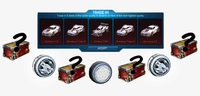 Pcc Trade Ups Available For Rocket League, Ps4 - Nissan PNG