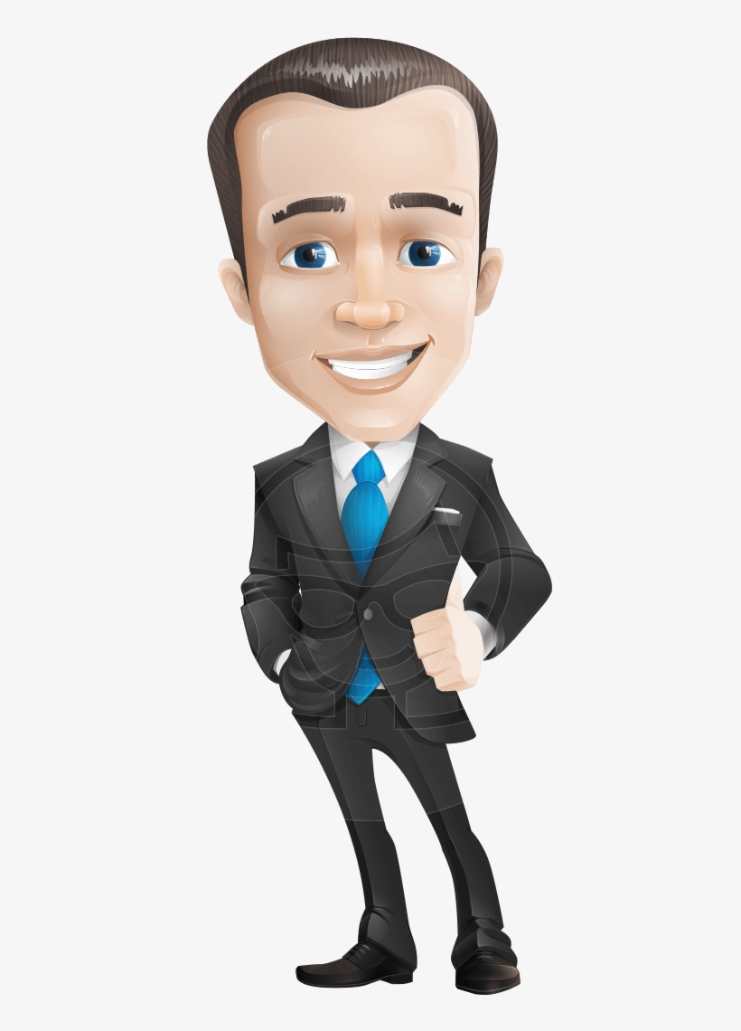 Vector Male Business Cartoon Character Create A Functional