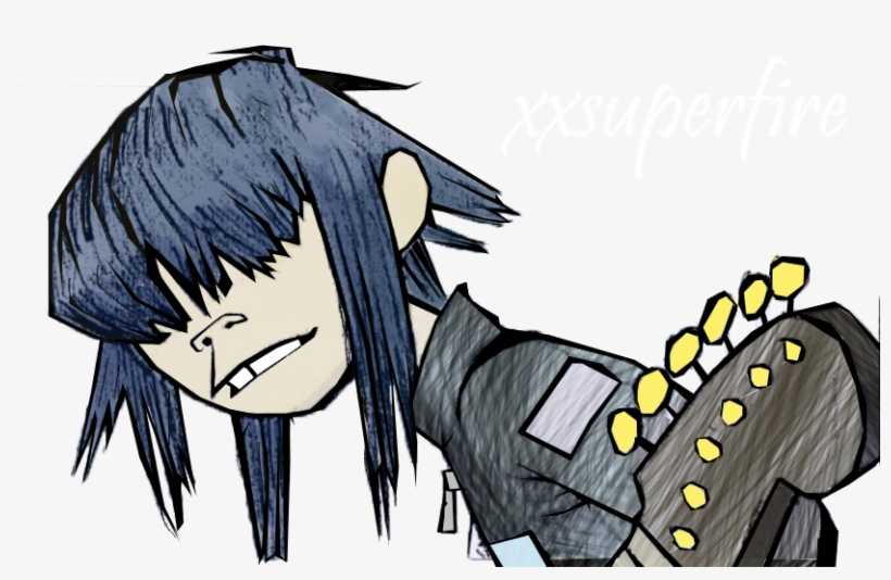 Satire Drawing Windmill Gorillaz Noodle Feel Good Inc Png Image