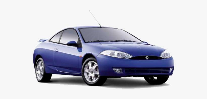 Ford Cougar Engine 03 Mercury Cougar Blue Png Image
