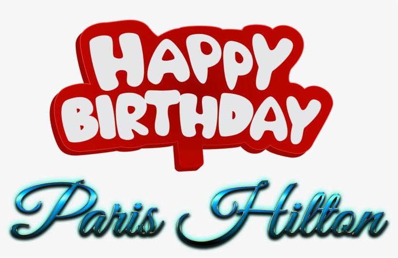 Happy Birthday Name Png@seekpng.com