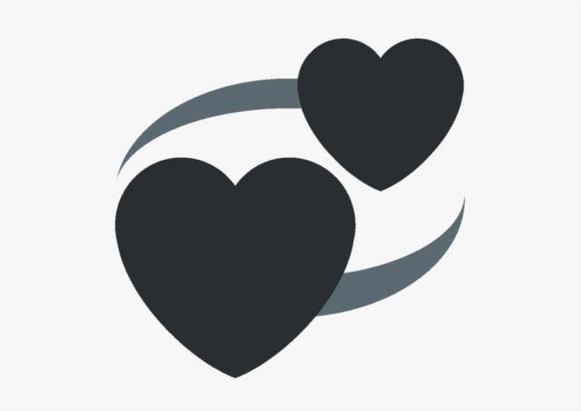 I Made A Discord Goth Heart Emoji Set - Discord Heart Emoji PNG