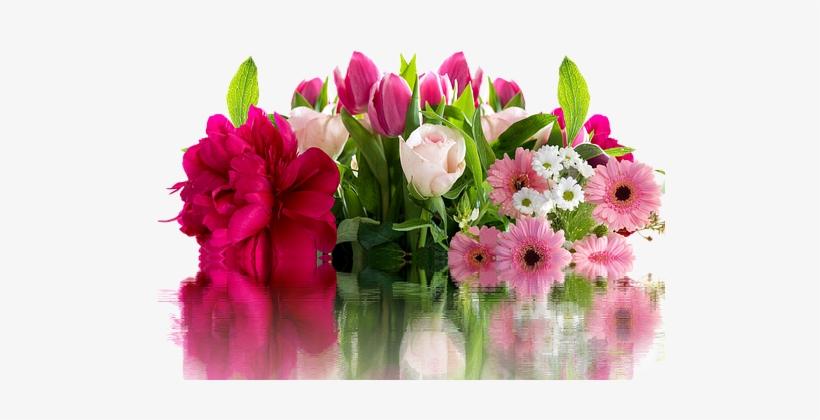 Roses Gerbera Flowers Blossom Bloom Pixabay Fleur Png Image