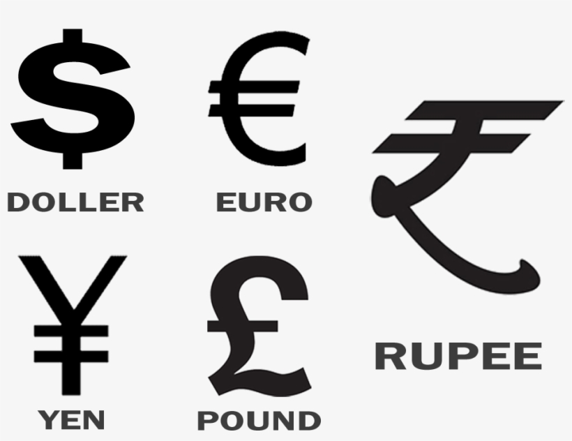 In A World Full Of Abbreviations To Denote Their Currency Symbol Indian Ru