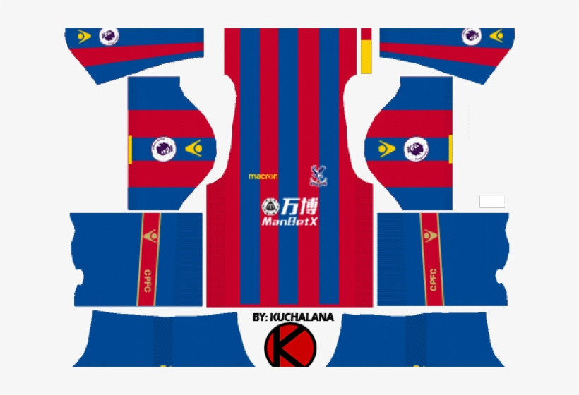 reputable site efd27 bfd61 Crystal Palace F - Dream League Soccer Kit Paris 2019 PNG ...