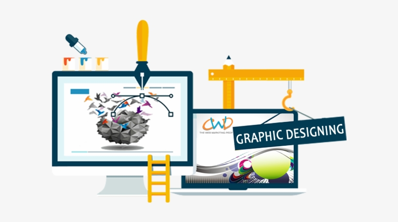 About Graphic Design & Videography - Web Development Vector