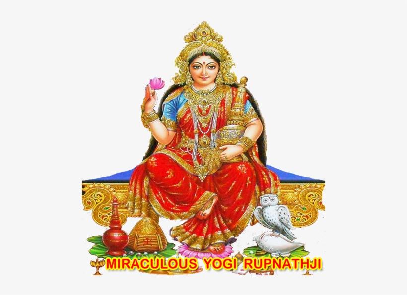 Lakshmi Puja Free Png Image God Kubera Lakshmi Png Image Transparent Png Free Download On Seekpng