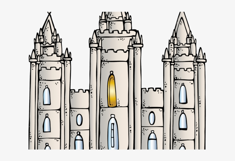 Temple Clipart Mormon Temple Salt Lake Temple Png Png Image