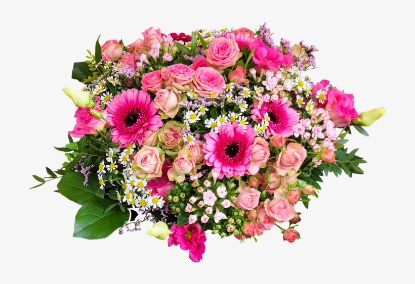 Flower Nature Bouquet Isolated Floral Greeting Good Morning Flowers Png Image Transparent Png Free Download On Seekpng