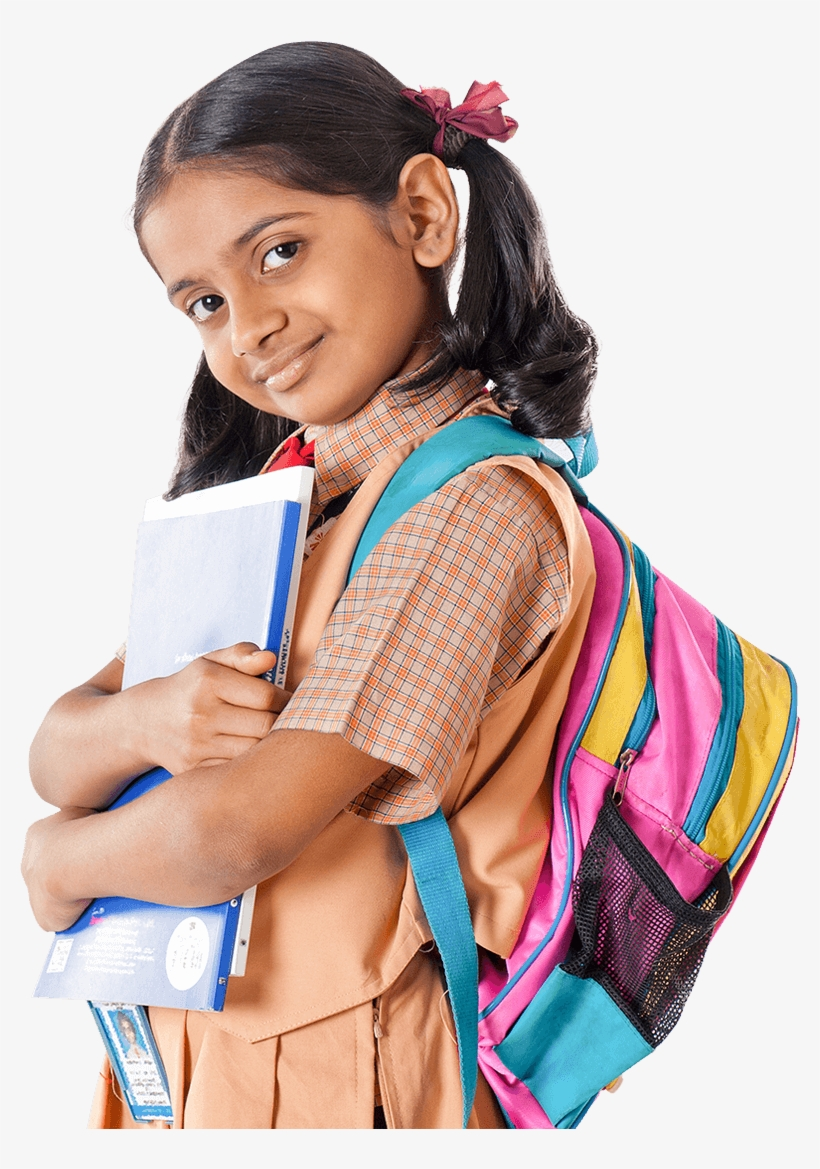An Education Leading To A More Purposeful Life For Indian School Girl Student Png Image Transparent Png Free Download On Seekpng