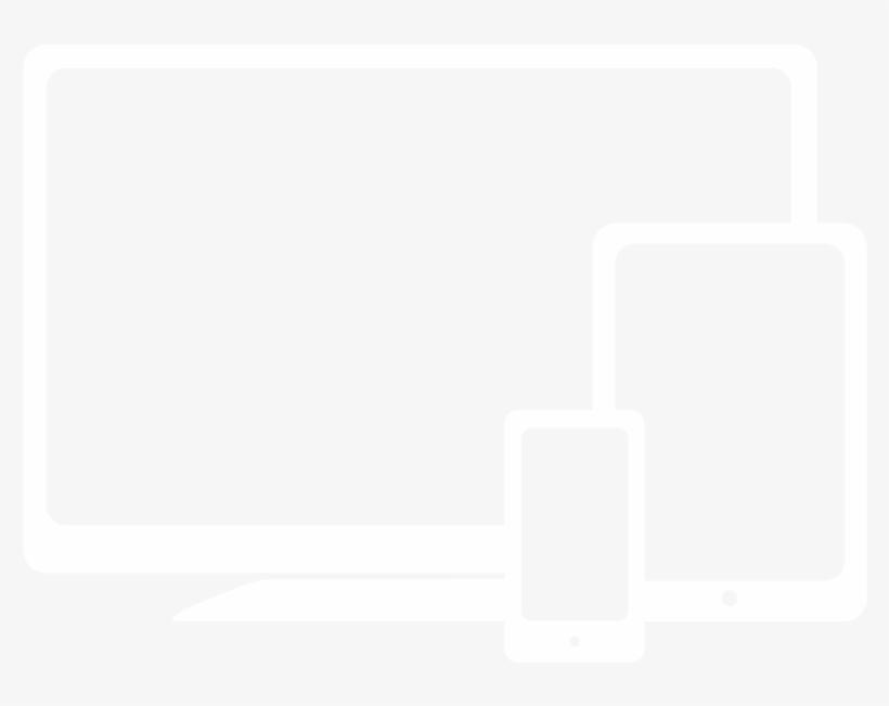Websites Responsive Sm - Web Design White Icon PNG Image
