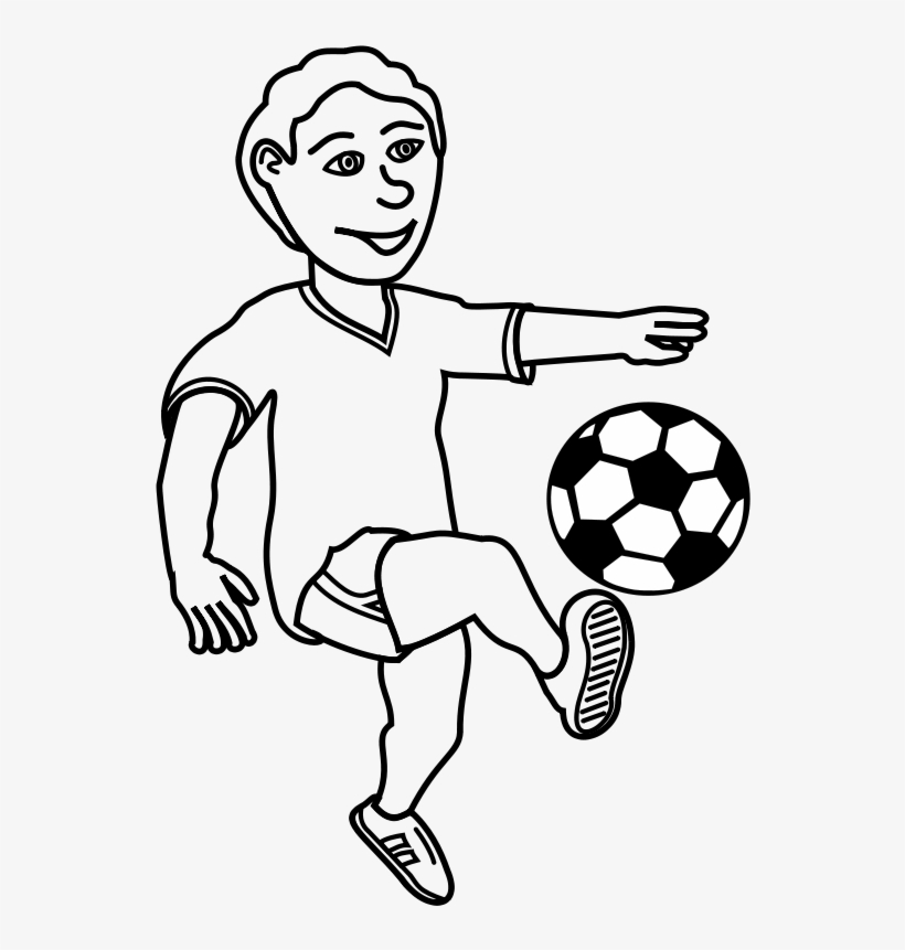 Black And White Football Player Clipart 2 By Angela
