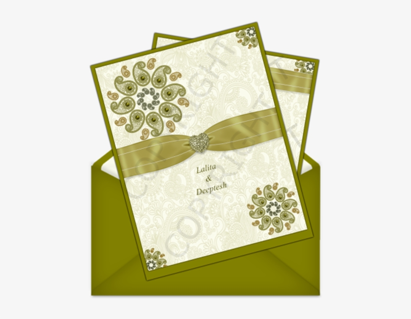 Invitation Card Png Indian Wedding Card Design Muslim Png Image Transparent Png Free Download On Seekpng