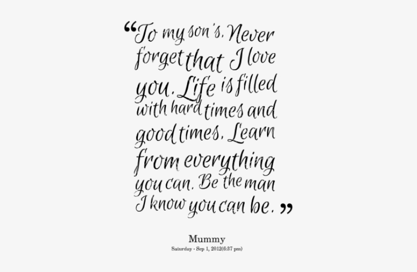 I Love My Son, Love My Son Quotes, Quotes For Little - Love ...