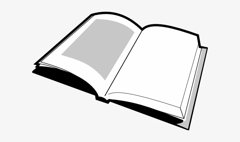 Open Book Clipart Black And White Clipart Panda Free Book Png