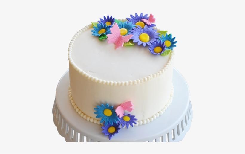 Elegant Birthday Cake Designs Round Birthday Cakes Png Image