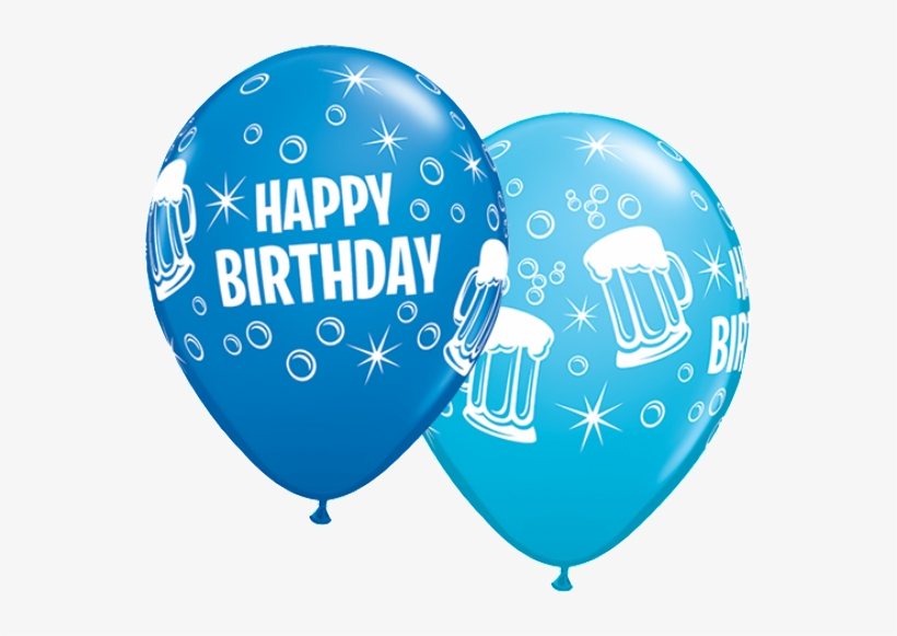 59e2b5b3aa10 Birthday Beer Mugs - Happy Birthday Balloons For Men PNG Image ...