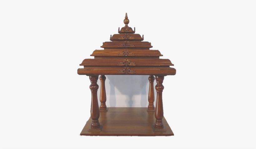 Home Wooden Temple Design Of Hindu Temple For Home Png Image Transparent Png Free Download On Seekpng