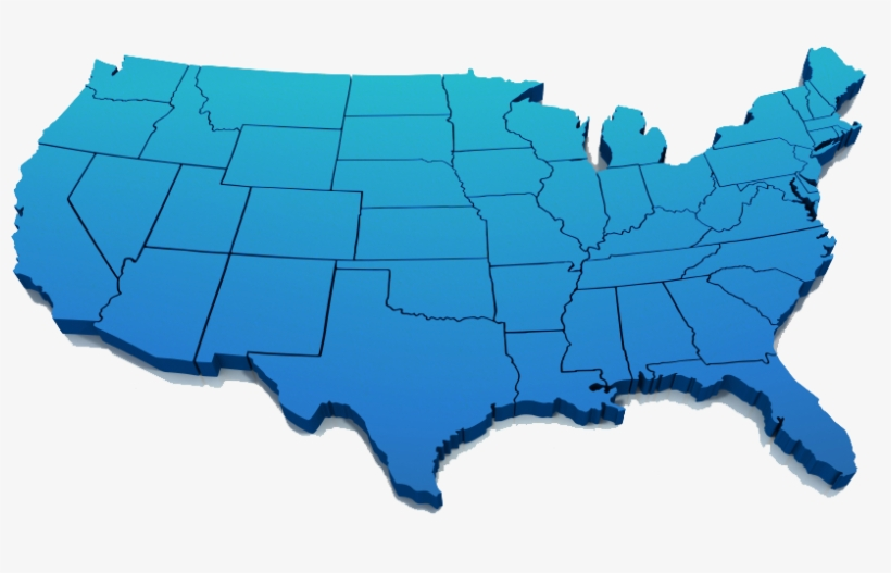 3d World Map Png Transparent Background For Kids - Clean Map Of Us@seekpng.com